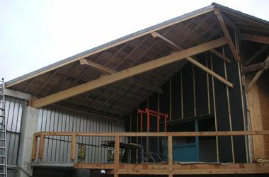 Rénovation - Réhabilitation Rénovation de toiture et création d'une cour intérieure