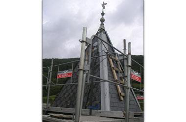 Couverture - Zinguerie Clocher à la BAUME D'HOSTUN