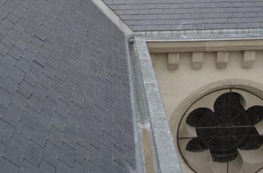 Couverture - Zinguerie Eglise de Clérieux