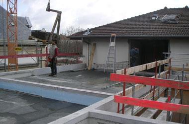 Surélévation - Extension Extention d'une habitation en ossature bois à VALENCE